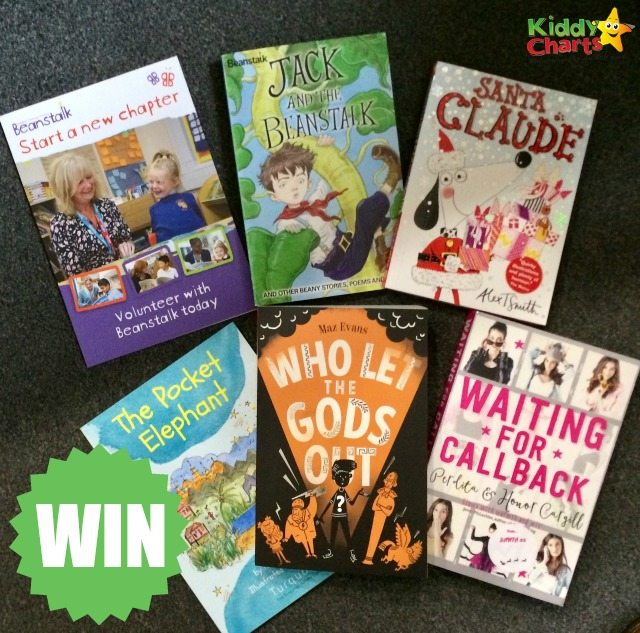 Win bundle of signed Children's Books in celebration of Beanstalk charity