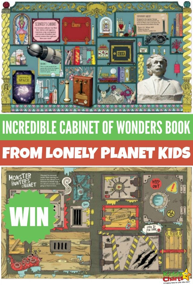 Win gorgeous Incredible Cabinet of Wonders book from Lonely Planet Kids