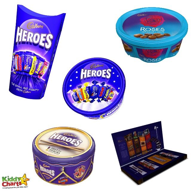 Win gorgerous kids Cadburys chocolate bundle worth over £50