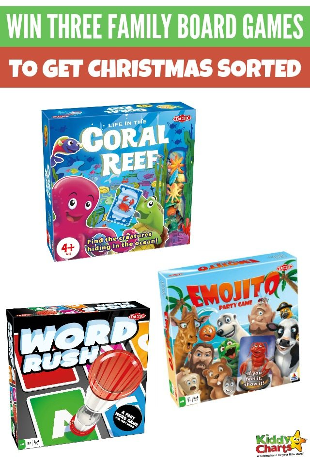 Win three family board games to get Christmas sorted! #Giveaways #Christmasgiveaway #Win