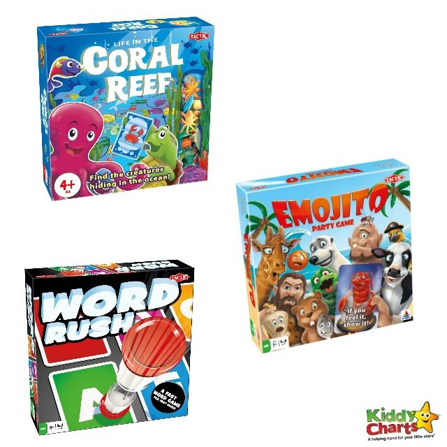 Win three family board games to get Christmas sorted!