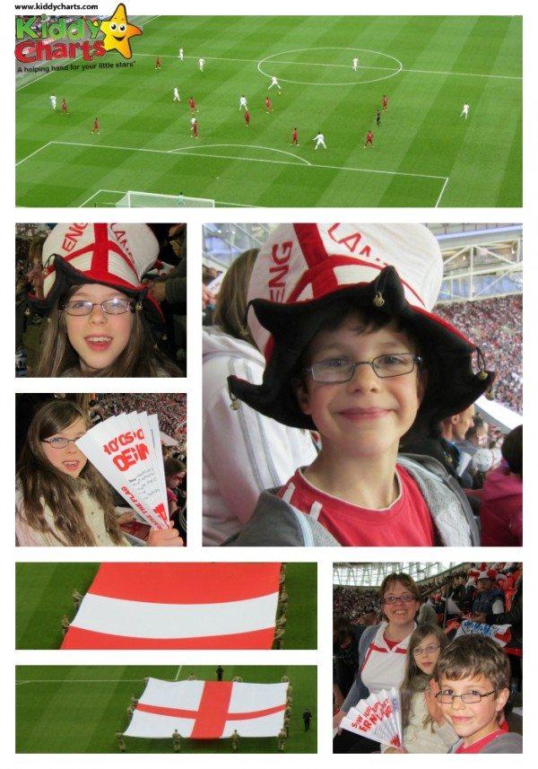 World Cup: England vs Peru Collage