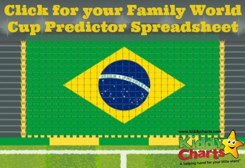 FIFA World Cup Brasil 2014 Predictions Spreadsheet