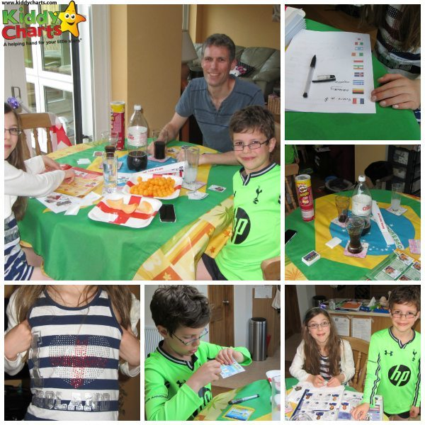 World Cup Sticker Party: Collage