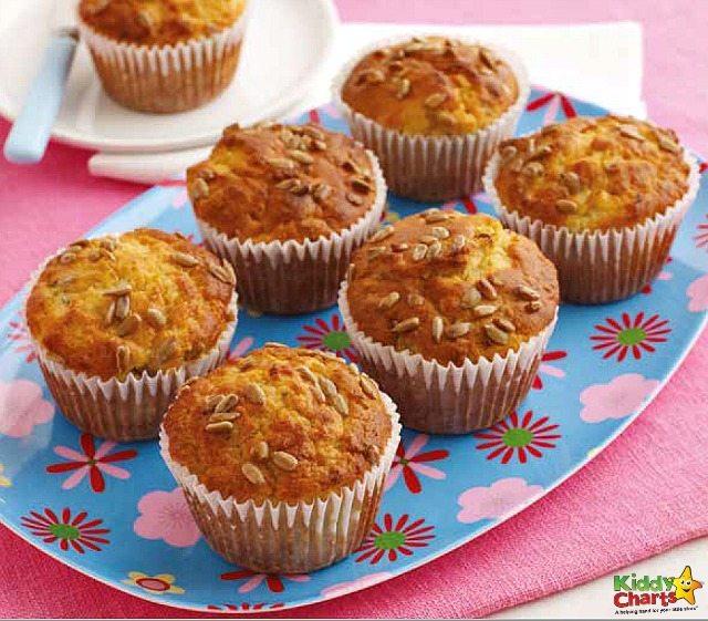 Yummy Kiwi Muffins Recipe