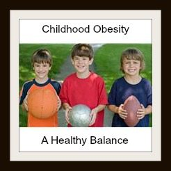 3 boys holding sports balls childhood obesity a healthy balance