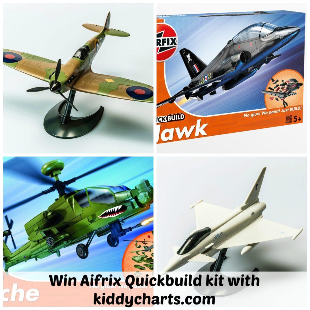 Airfix Quickbuild: Collage