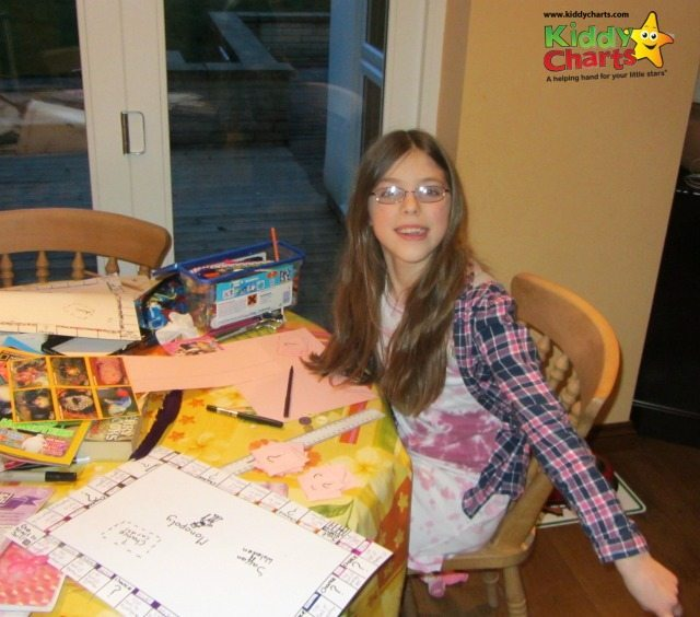 Amazing daughter come up with amazing ideas like make your own Monopoly