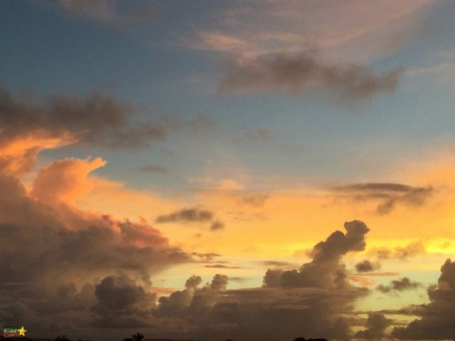 Sunsets on Antigua are simply stunning - and there really is so much to do there too for the family. A tropical destination, with some great family activities.