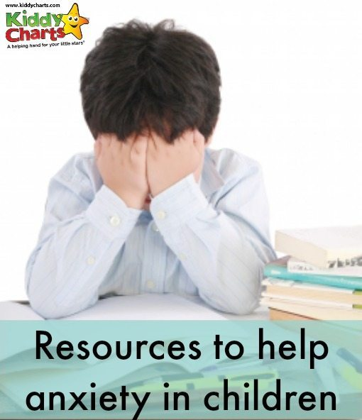 child with his head in his hands Anxiety in children: free resources to help with anxiety in children
