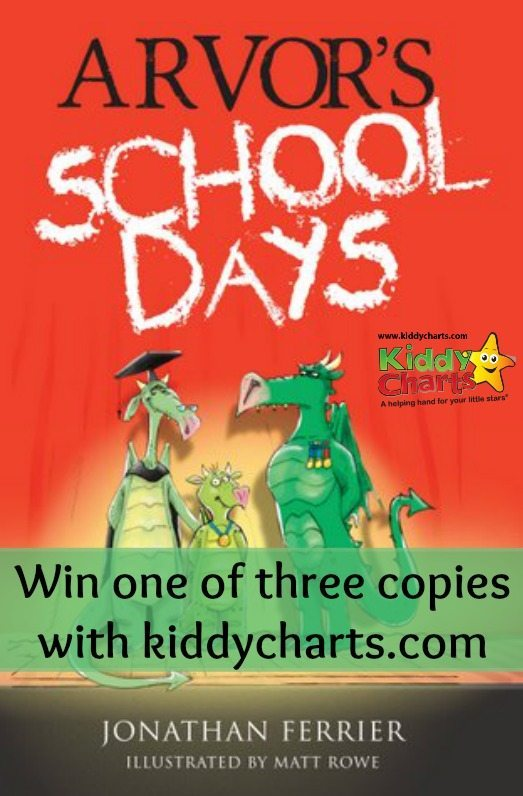 Win one of three copies of Arvors School Days to mark Dyslexia Awareness. Closes 2nd December. A great books for kids!