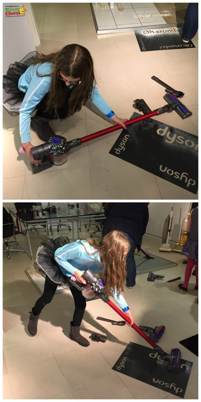 Assembling the Dyson V6 Fluffy is easy - so much so, my daughter can do it...
