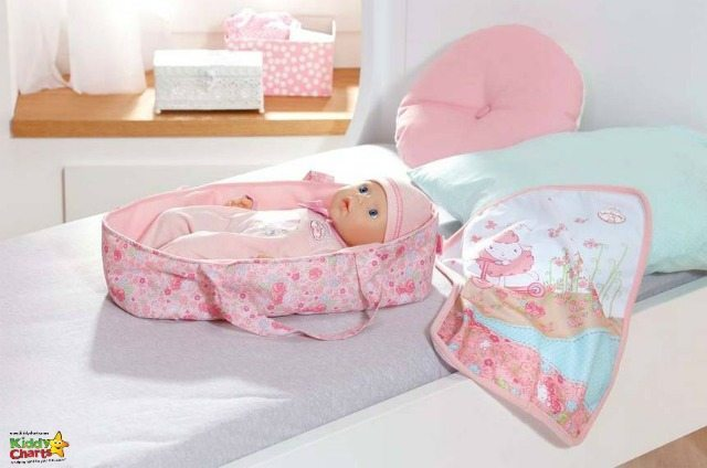 my first baby annabell moses basket