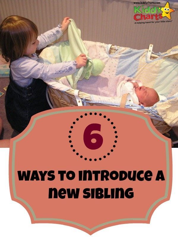 How can you help your child to feel OK when there is a new baby in the house - always a big challenge for parents of more than one child...here are some great ideas to help!