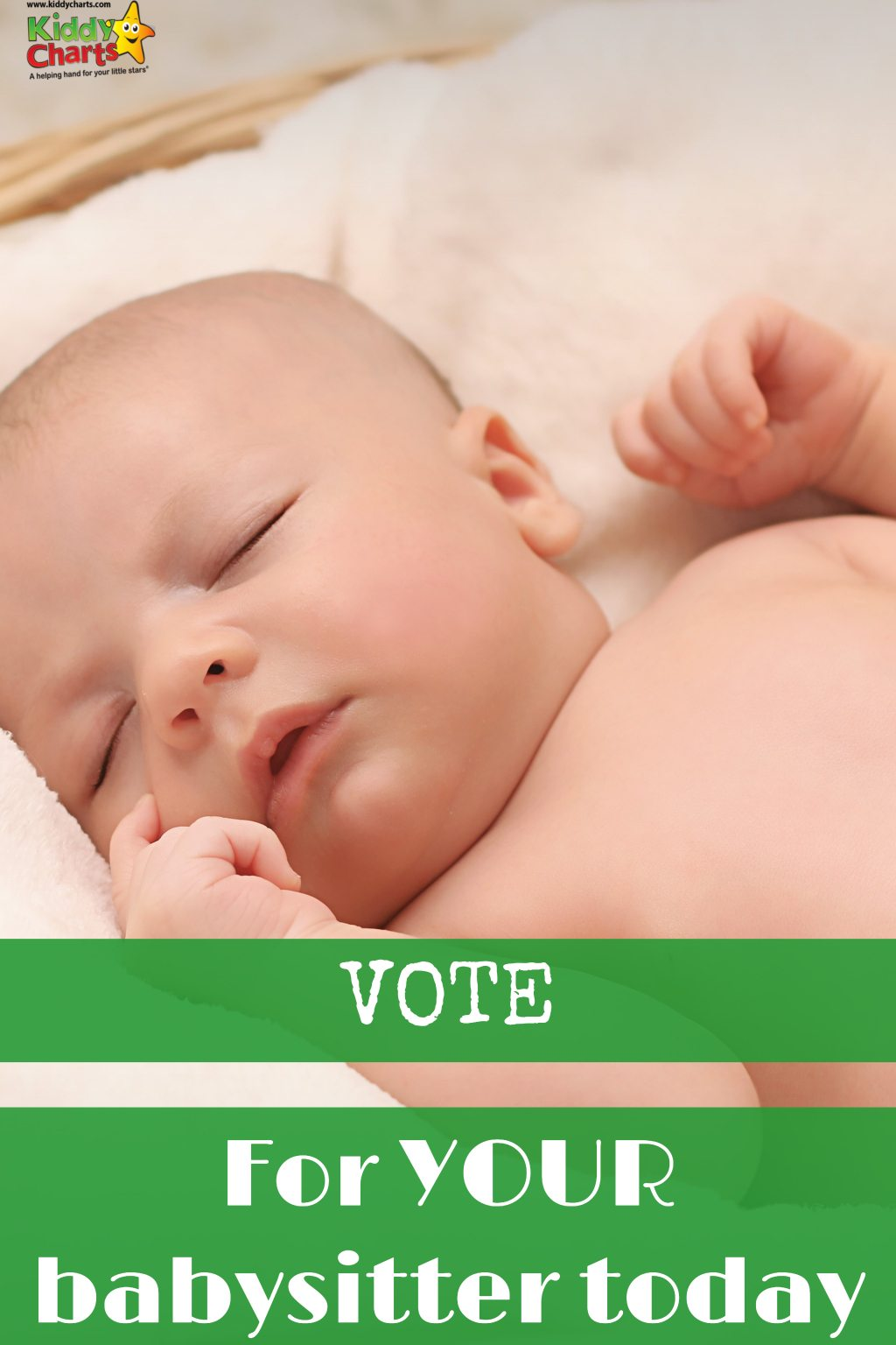 Make sure you vote for your babysitter of the year with childcare.co.uk - com on, give them a pat on the back!