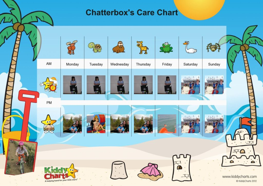 Back to School: Care Chart