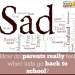 How do us parents REALLY feel when they go back to school?