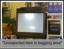 unexpected item in bagging area