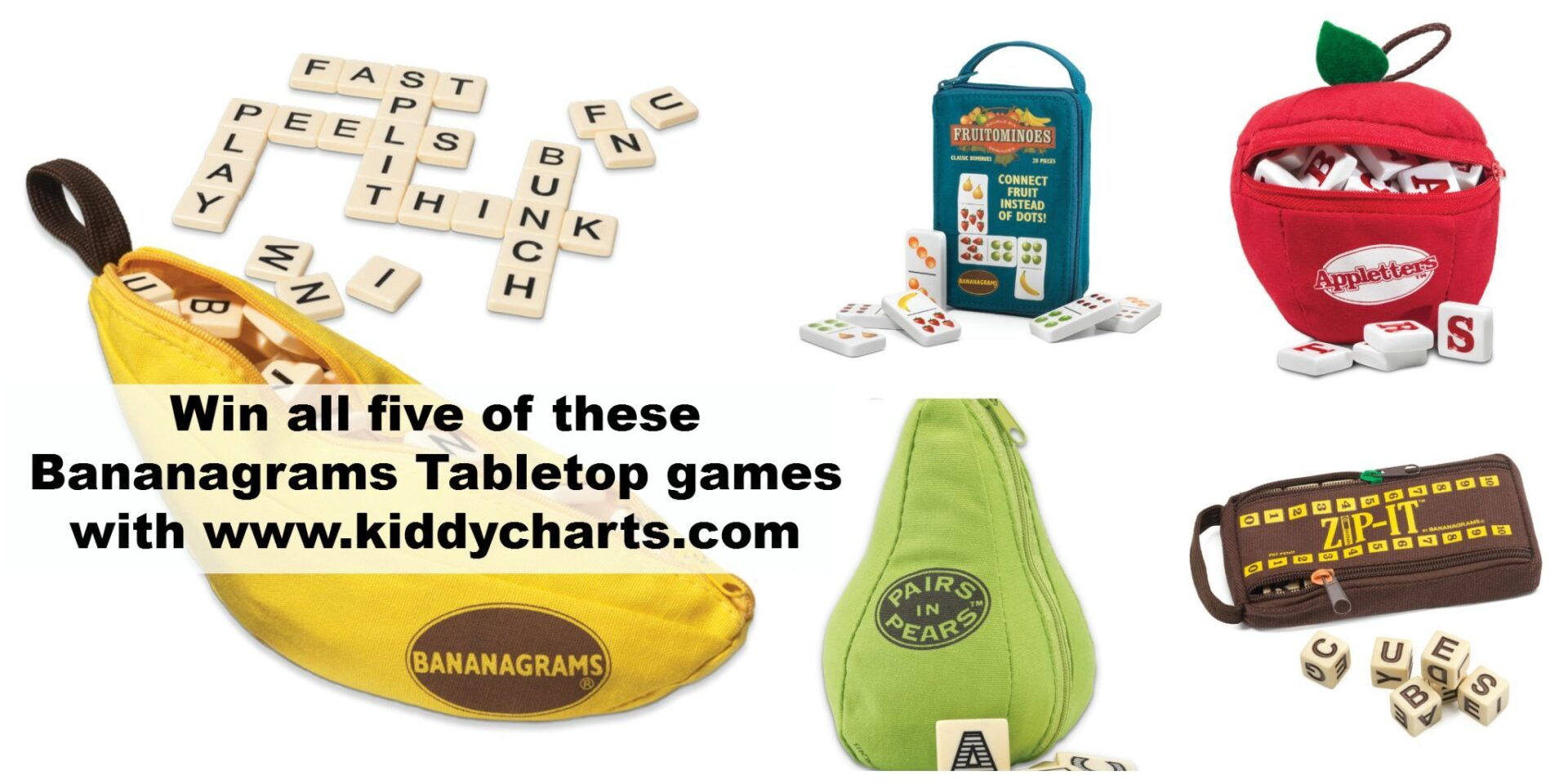 bananagrams Collage