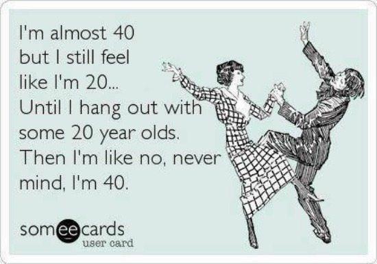 me time to make you feel 20 again