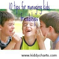 Best friends: 10 tips for managing kids friendships