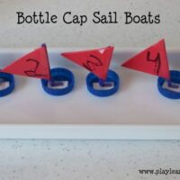 How to make bottle cap sail crafts