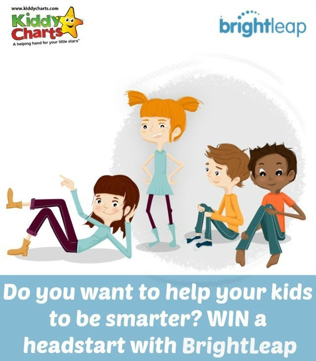 Do you want to give you kids a headstart in life? We are offering a 6 month subscription to BrightLeap educational site, along with a £50 Amazon voucher. Closing date 11th June but a 20% off promo code available well beyond this. All you need to do is prove you are as smart as your kids! in an online quiz - takes less than 5mins!