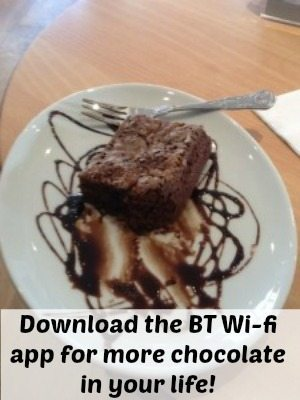 BT Wifi Hotspots App: Get more chocolate in your life!