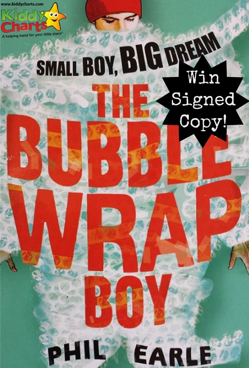We have a unique gift for you - a signed copy of Bubble Wrap Boy from Phil Earle...why wouldn't you want one of these for the kids?
