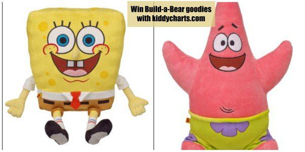 Build a Bear: Giveaway for Sponge Bob
