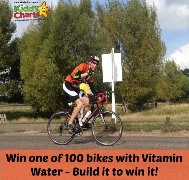 WIn the bike that you build with the build a bike vitamin water competition