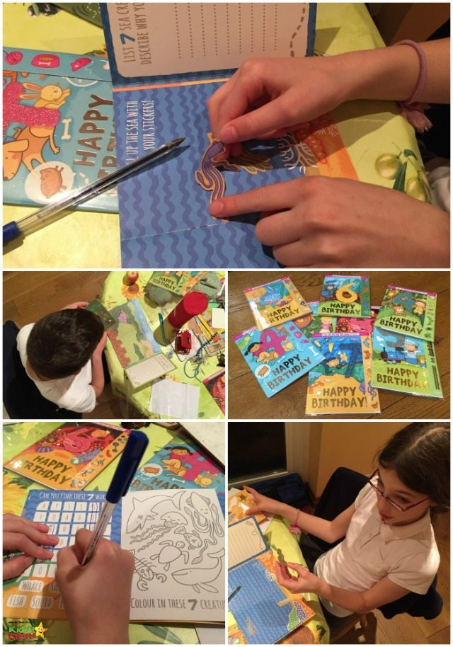 Look how much fun we had doing our Cardooo activity cards - hours of fun for the kids on a day usually fuelled by chaos and sugar!