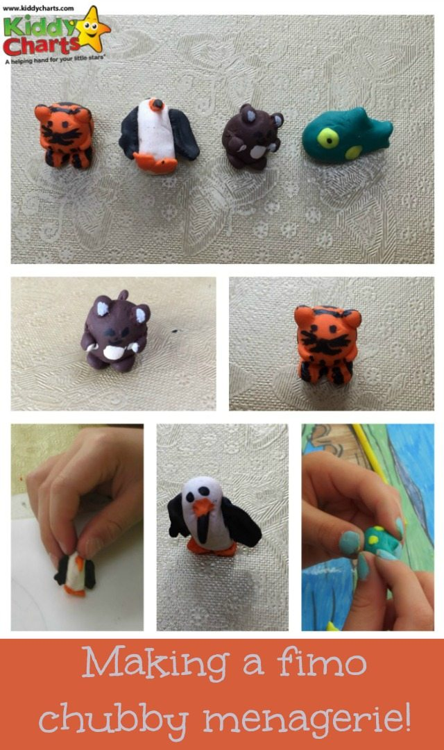 We are making Fimo animals on the blog today, you would be surprised at how easy, and how much fun it really is for little fingers!