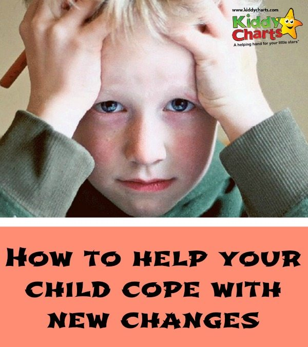How to help your children when dealing with change.