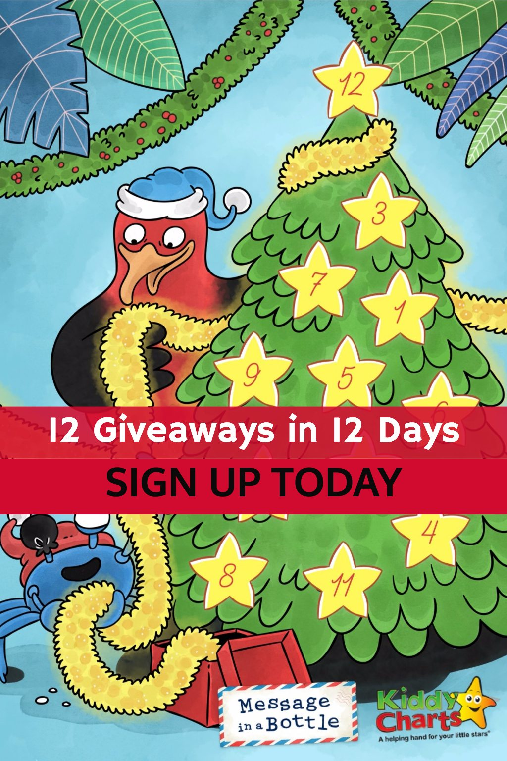 We have 12 christmas competitions from 1st December - sign up today for a chance to get Christmas sorted for the kids! #giveaways #christmas #adventcalendars