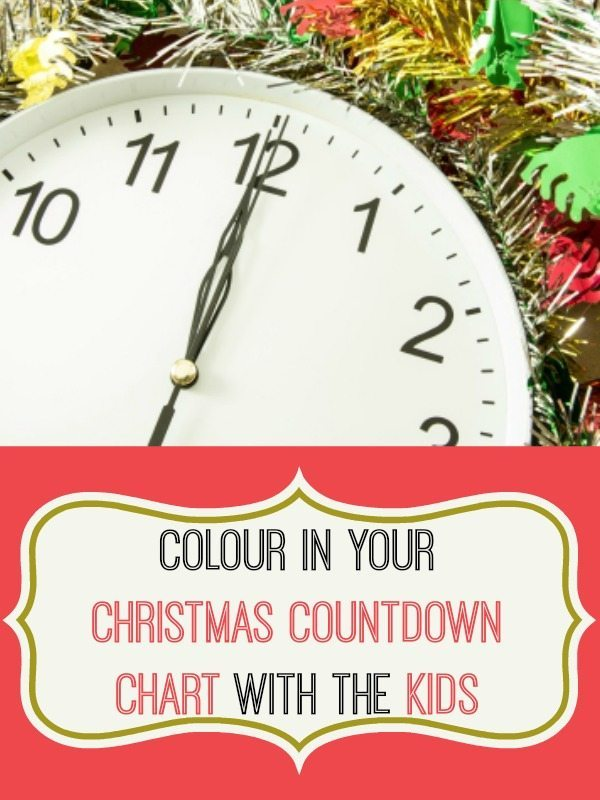 Use our wonderfully colouring countdown chart for Christmas sleeps to go - with pears for every day with the 12 Days of Xmas song theme - your kids will love it!