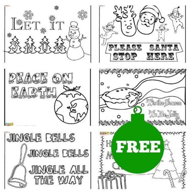 We have some lovely Christmas posters for you to use for the kids to colour in. A little Christmas colouring to keep them entertained perhaps while you cook?
