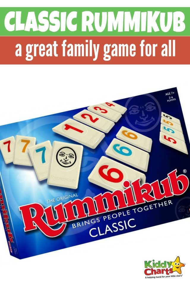 classic Rummikub a great family game for all
