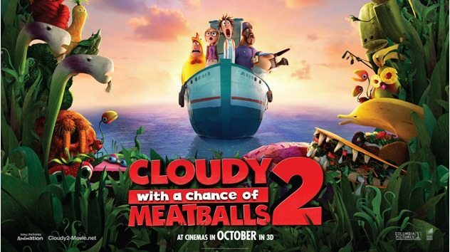 Cloudht with a chance of meatballs 2