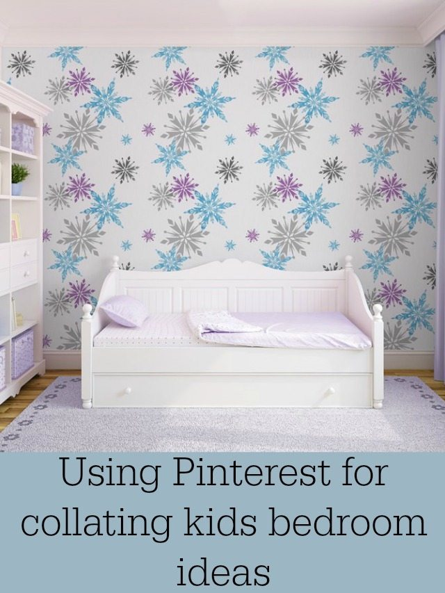 Do you know how to collate your ideas for kids bedrooms on to Pinterest - well if you don't then read on!