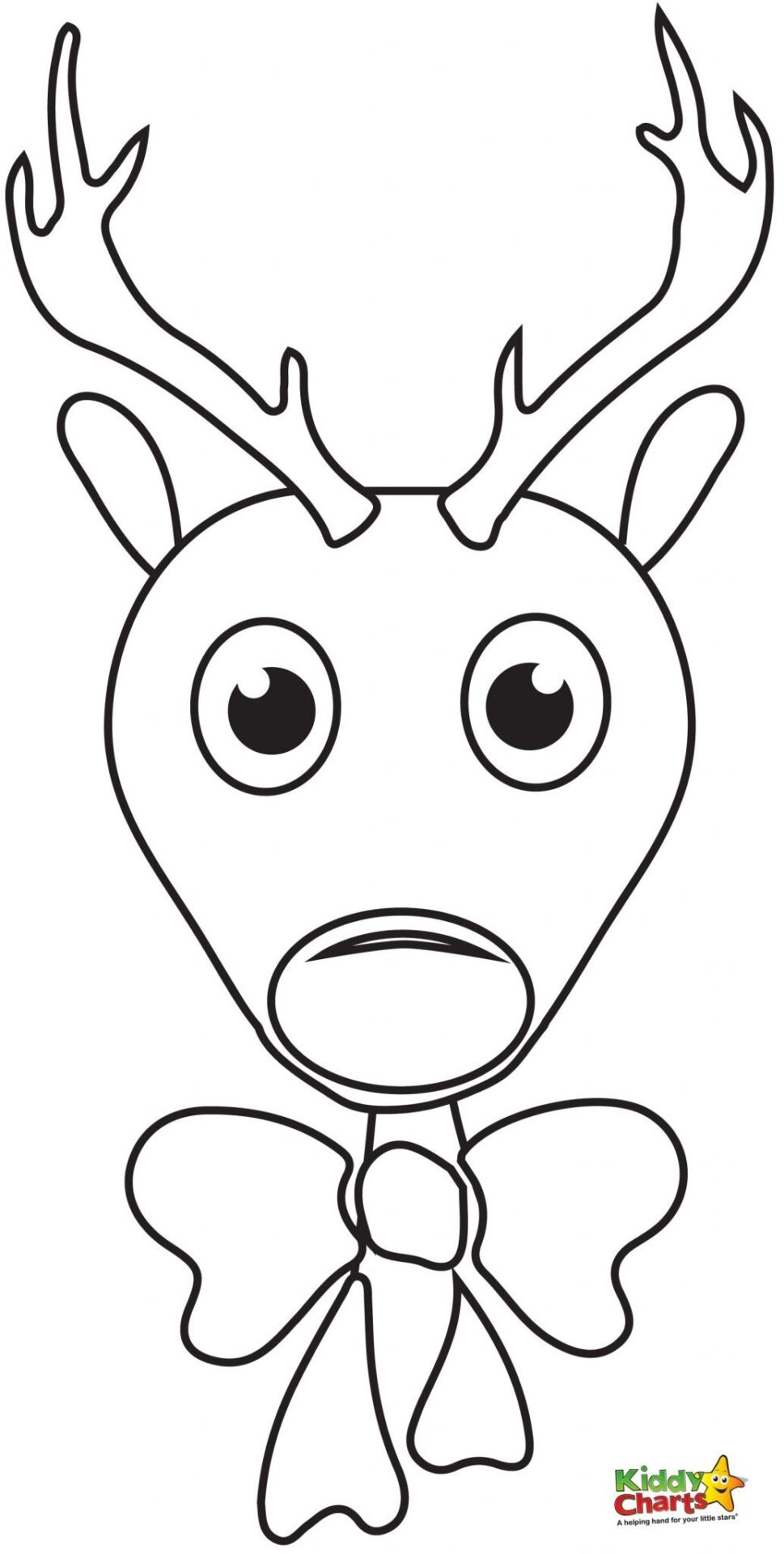 Search results for rudolph the red nose reindeer for Reindeer coloring pages