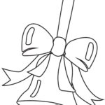 Bell with a Bow – Printable Christmas Coloring Pages