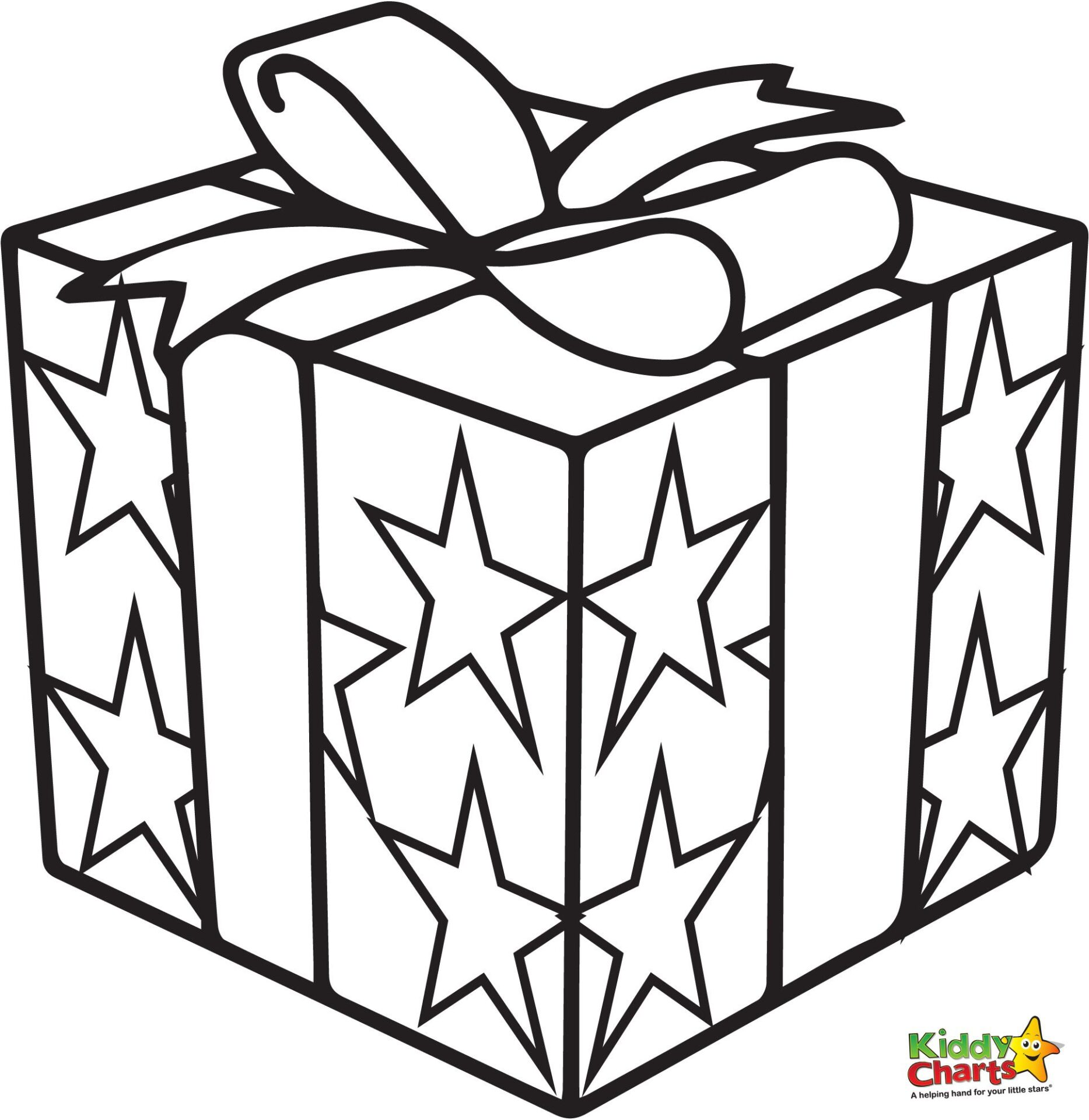 Free Coloring Pages Of Gift Present Printable Coloring Pages