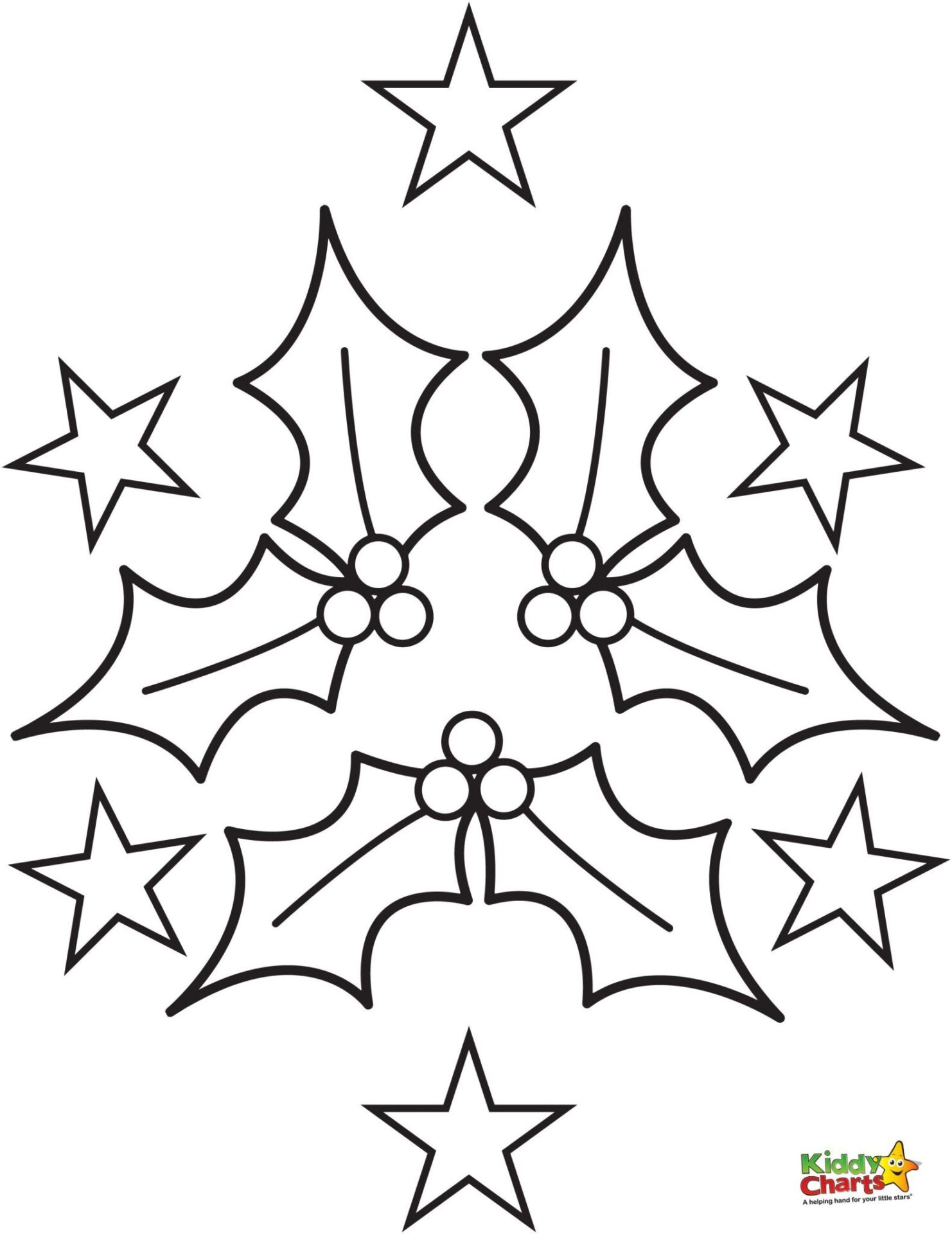 coloring pages holly - photo#4