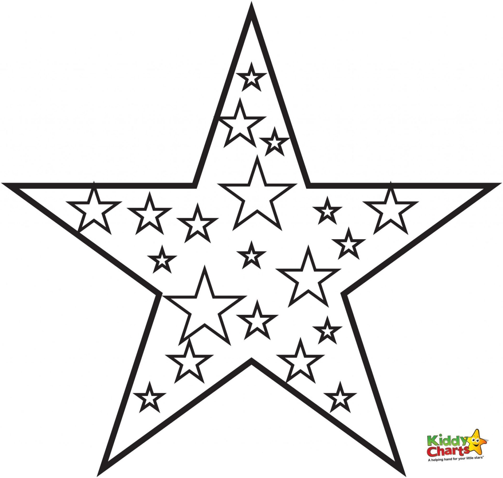 Shocking image regarding christmas star printable