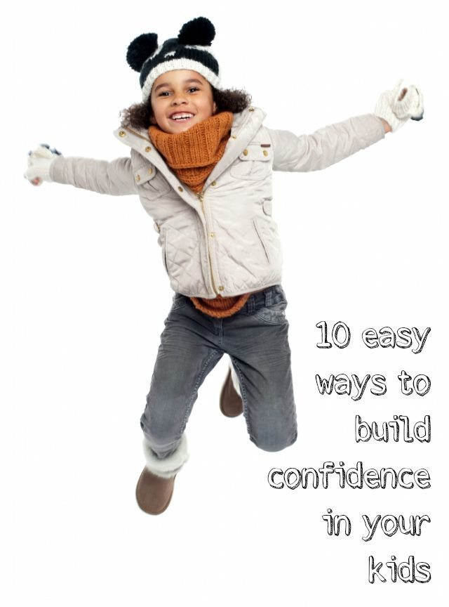 Building confident kids is something we all aspire too - helping our children be confident in life, friendships and themselves isn't easy - but here are ten great ways to inspire confidence in your children.