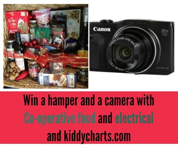 We have day five of our Christmas giveaways, and we have a hamper and a camera to give away! Don't miss out, closes 12th Dec.