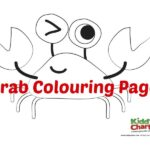 Crab colouring freebie