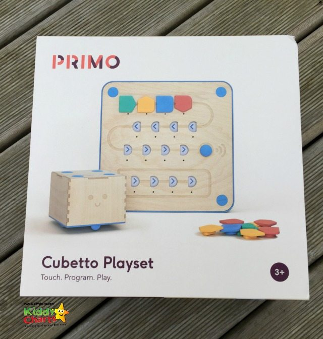 Cubetto is a new coding toy for younger children - and he's cute and doesn't need a screen.