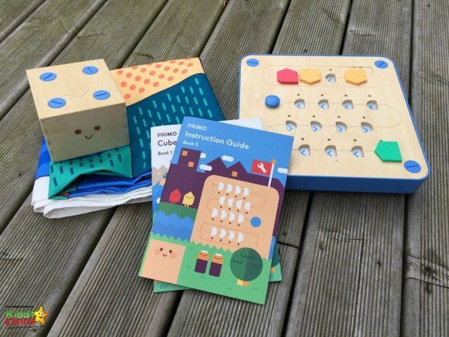 Cubetto allows coding without a screen for younger children - and you do get a lot of stuff with it as well.